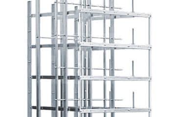 Ripartitori coassiali – Supporto strisce – Prototipi ripartitori